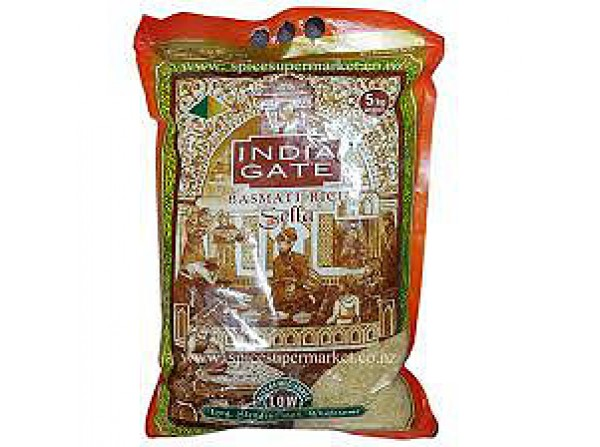 India Gate Basmati sella Rice(Brown) 5kg